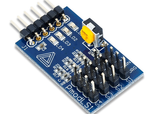 Pmod LS1 with Arduino Uno