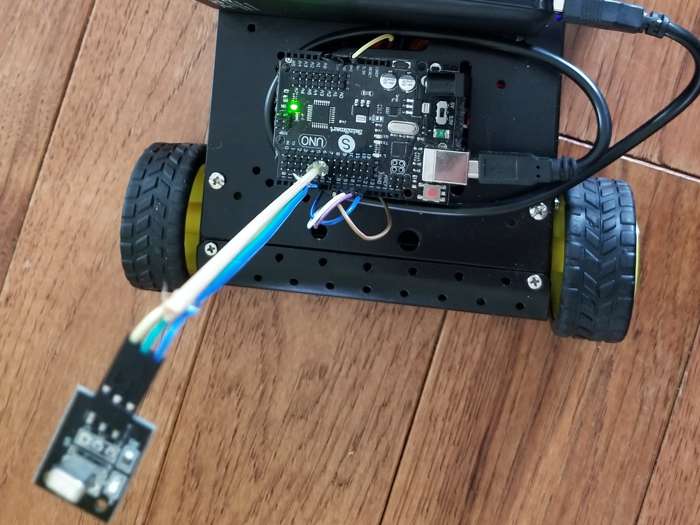 IR Remote Control Car - Updated