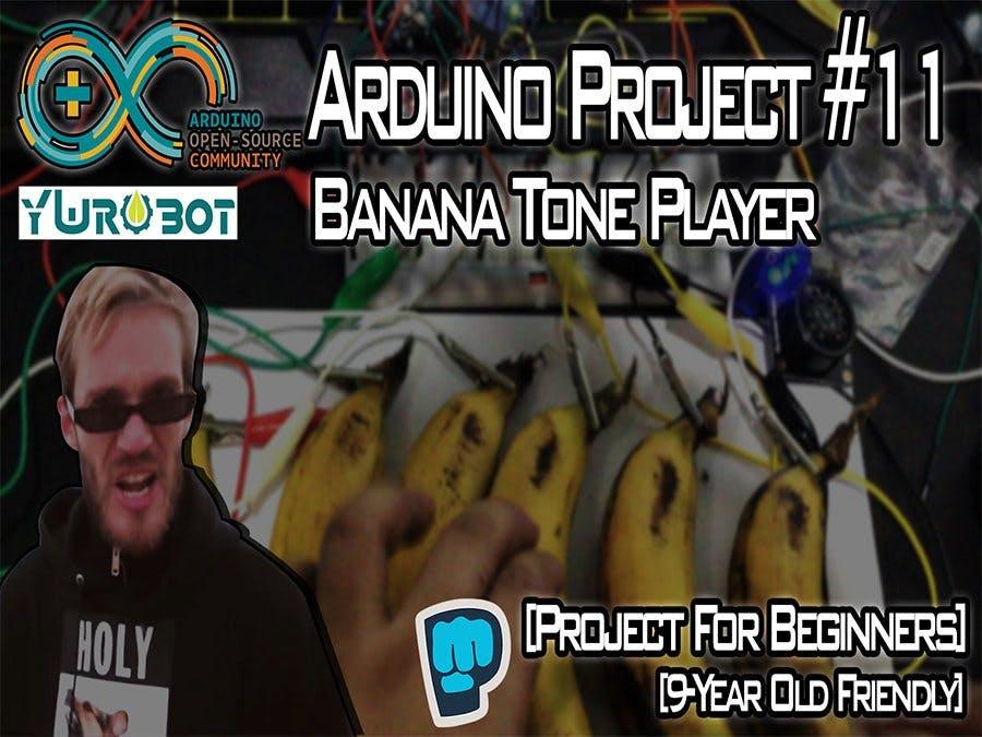 Playing Tones Using Bananas