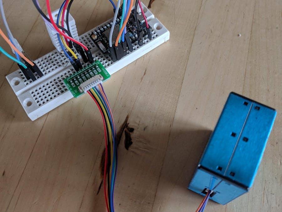 PMS 5003 Laser Air Sensor with Photon - Hackster io