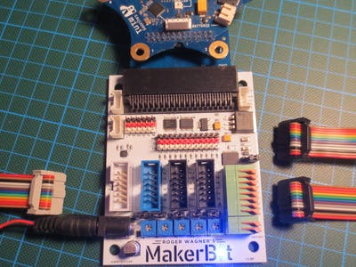 MakerBit am Calliope Mini