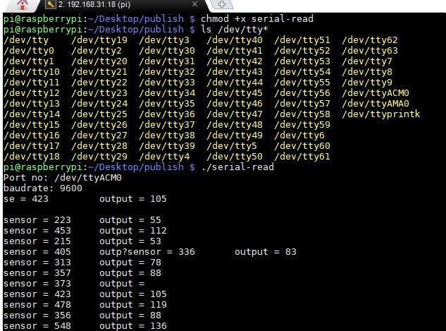 Serial Communication with  NET Core 3 0 on RPi Linux