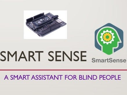 SmartSense - A Smart Assistive System for Blind People