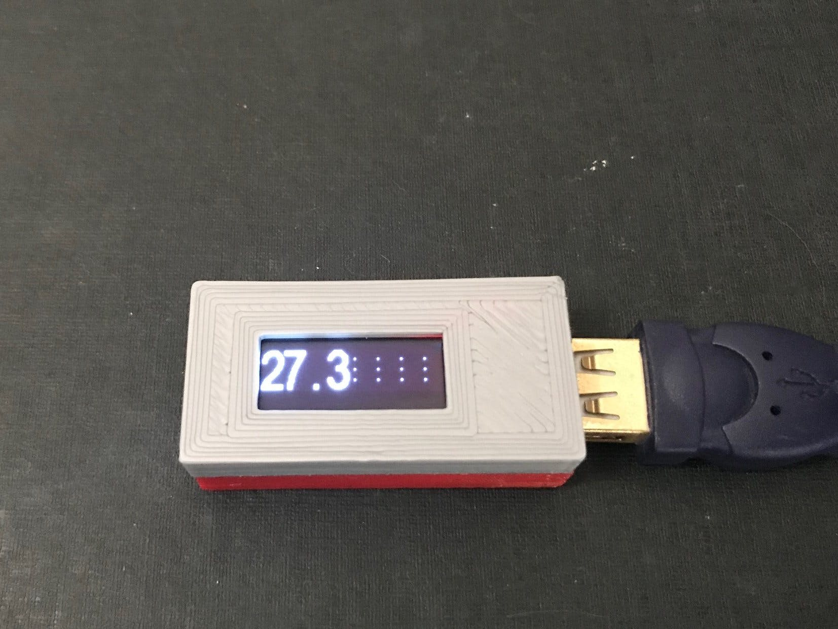 DigiSpark Thermostat with DHT12 and OLED