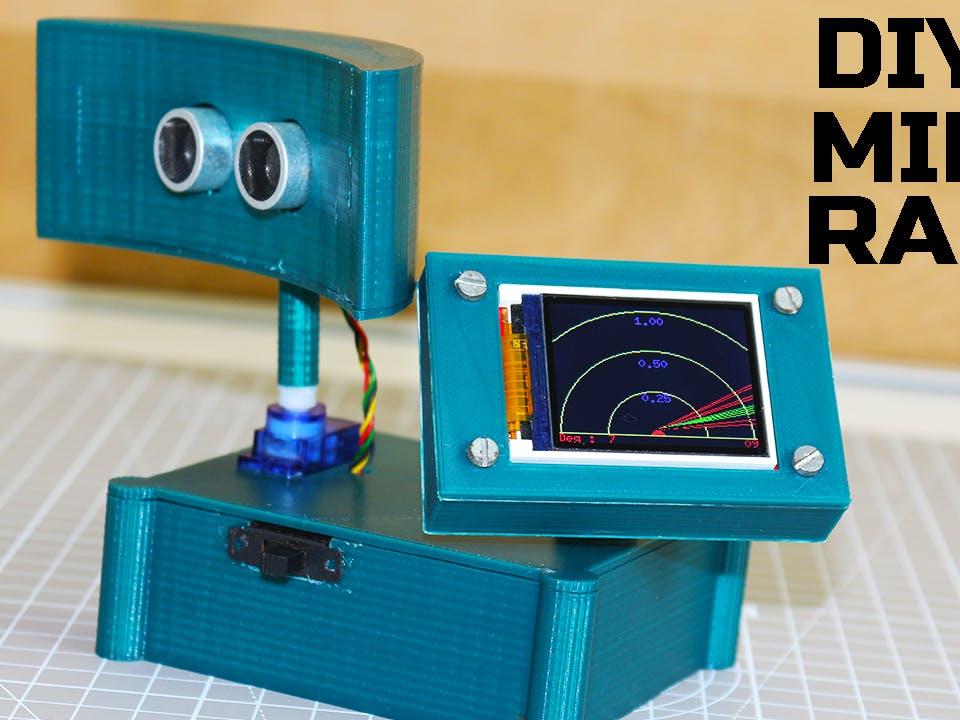 Mini Radar with Arduino