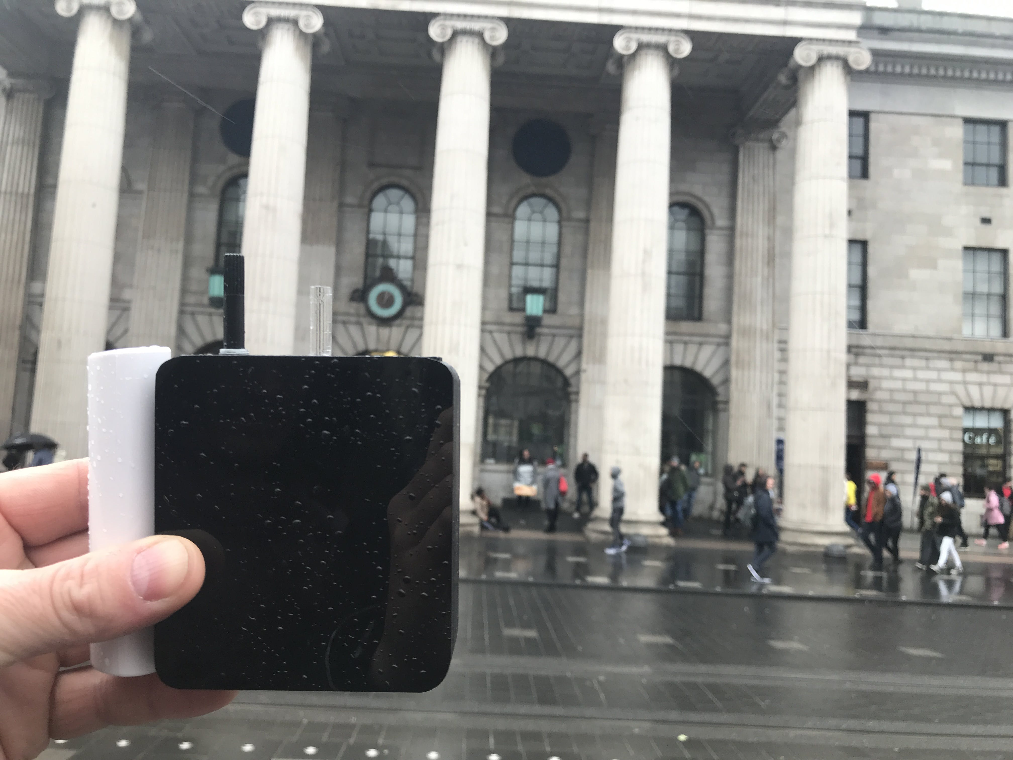 In Front of the GPO (Dublin)