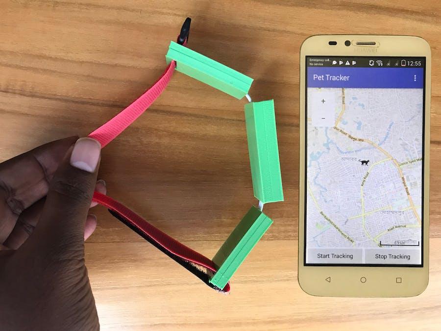 Pet Locator Powered by Spresense GPS