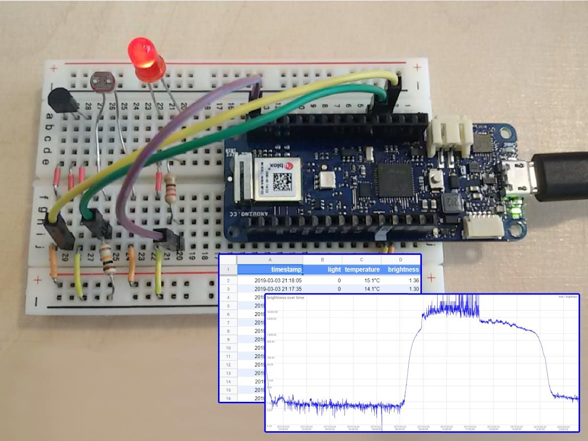 Arduino IoT Cloud Google Sheets Integration