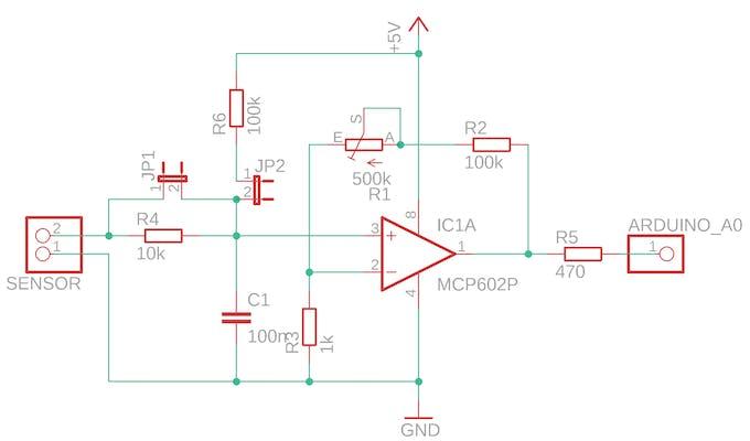 universal sensor schematics