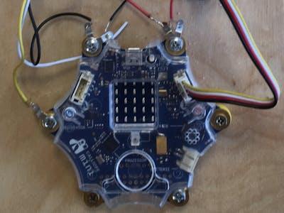 Calliope Mini Geräuschregistrierung noise registration