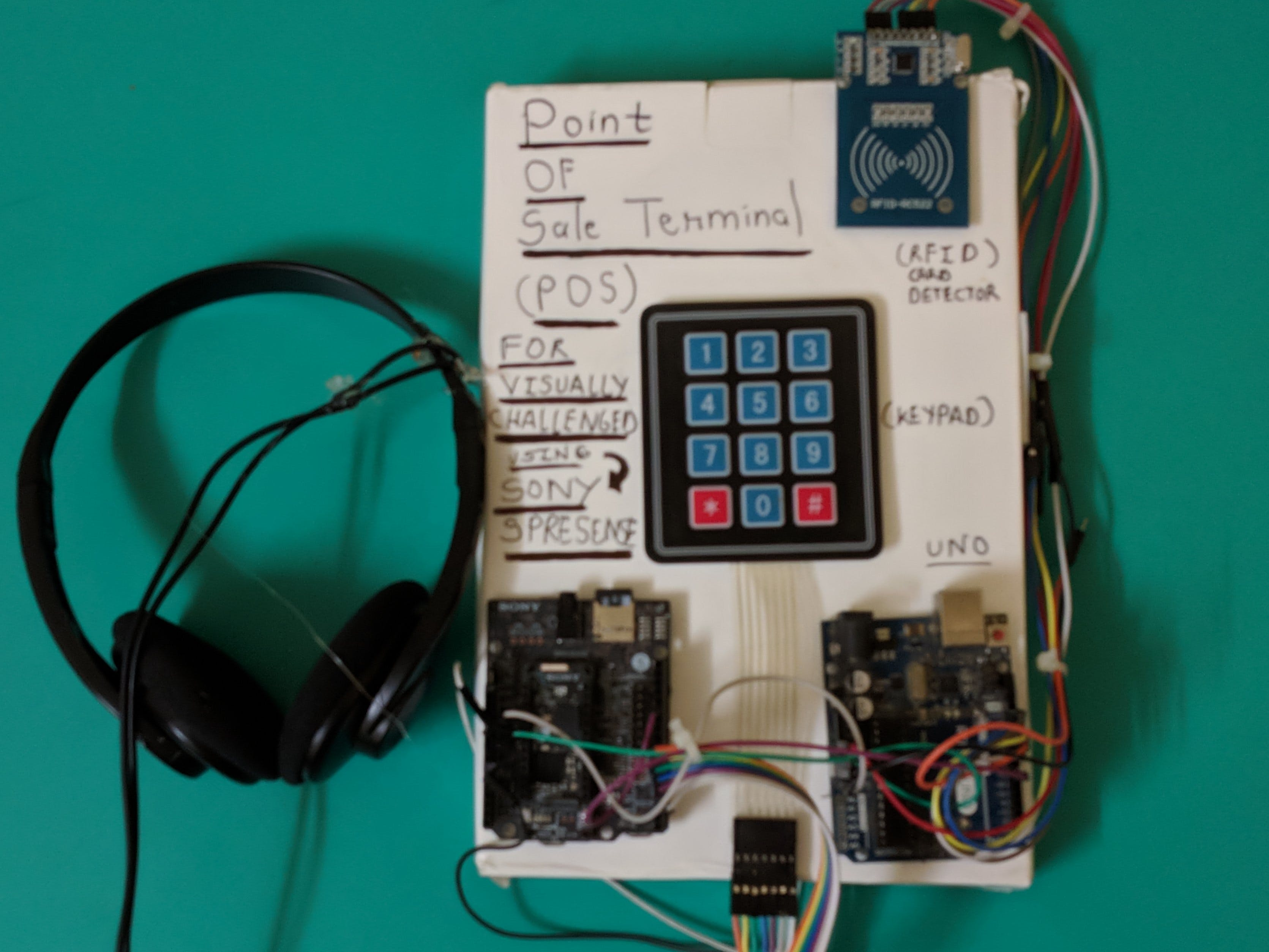 Payment Terminal for the Visually Challenged