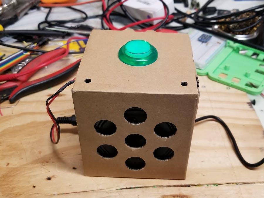 Magic 8-Ball Inspired Answer Box