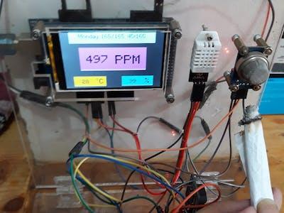 Air Quality & Temperature Monitoring