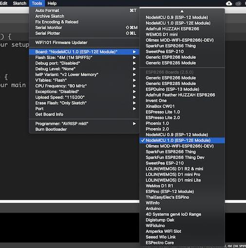 Using Arduino IDE to Program NodeMCU - Arduino Project Hub