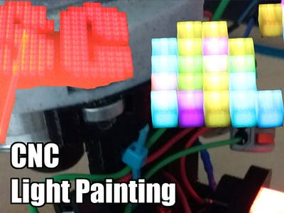 CNC Light Painting