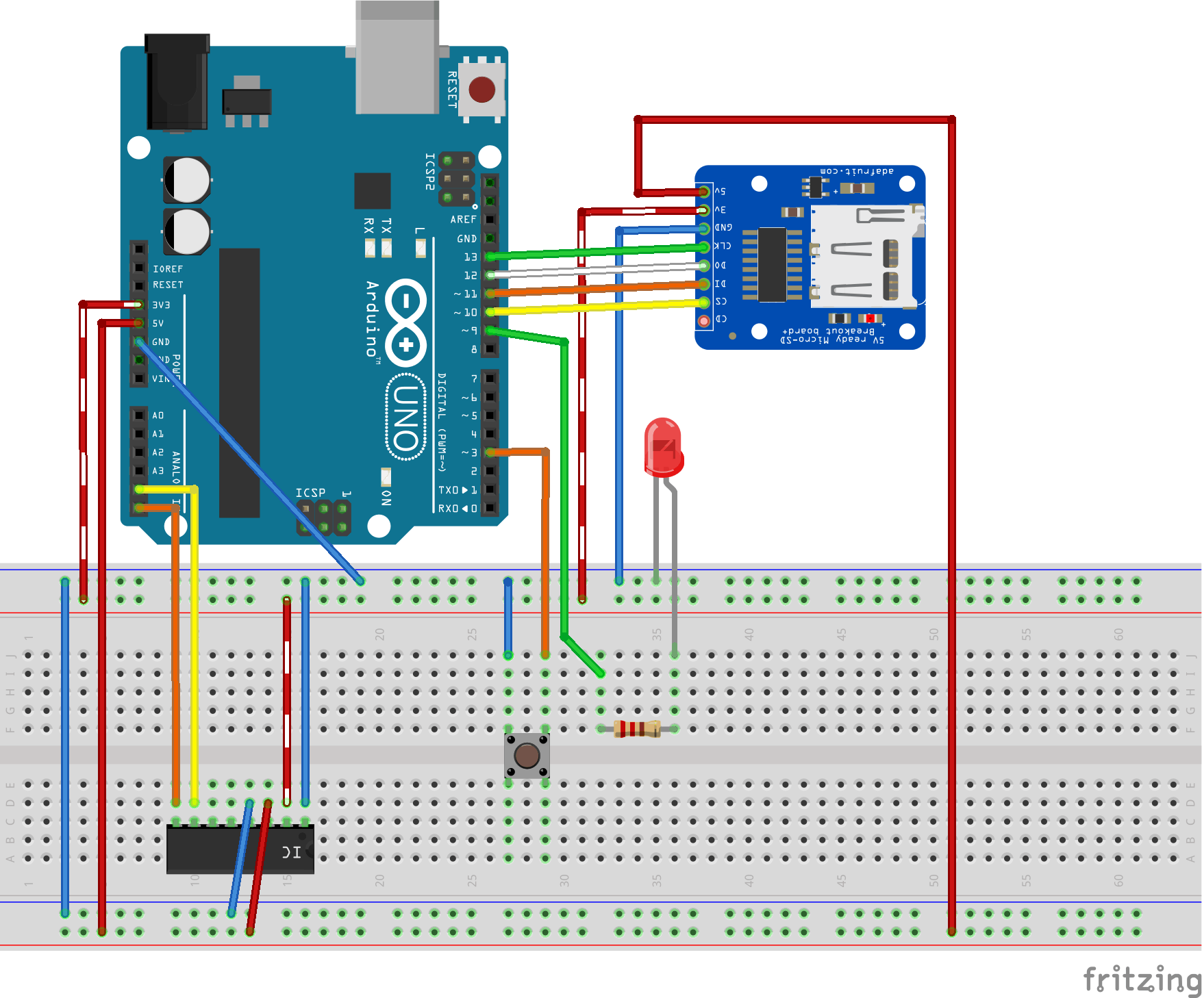 Arduino Energy Logger Circuit with Dr. Wattson