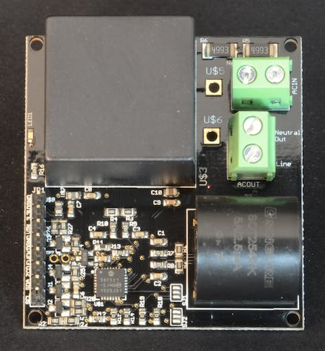 Dr. Wattson Energy Monitoring Breakout for Arduino and other micro-controllers
