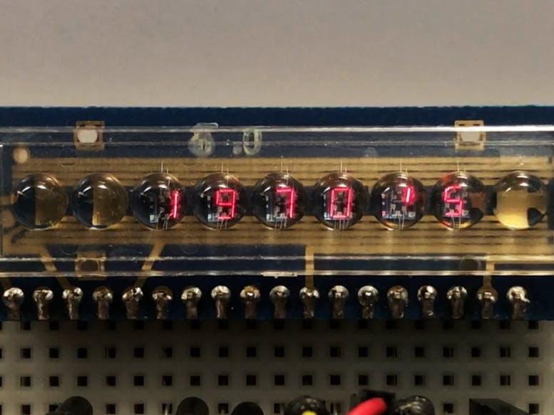Retro LED Bubble Display