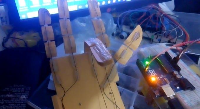 Robotic Hand Testing