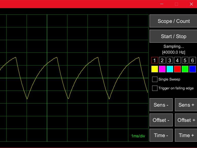 Arduino UNO Library for a Sampling Scope & Counter - Arduino