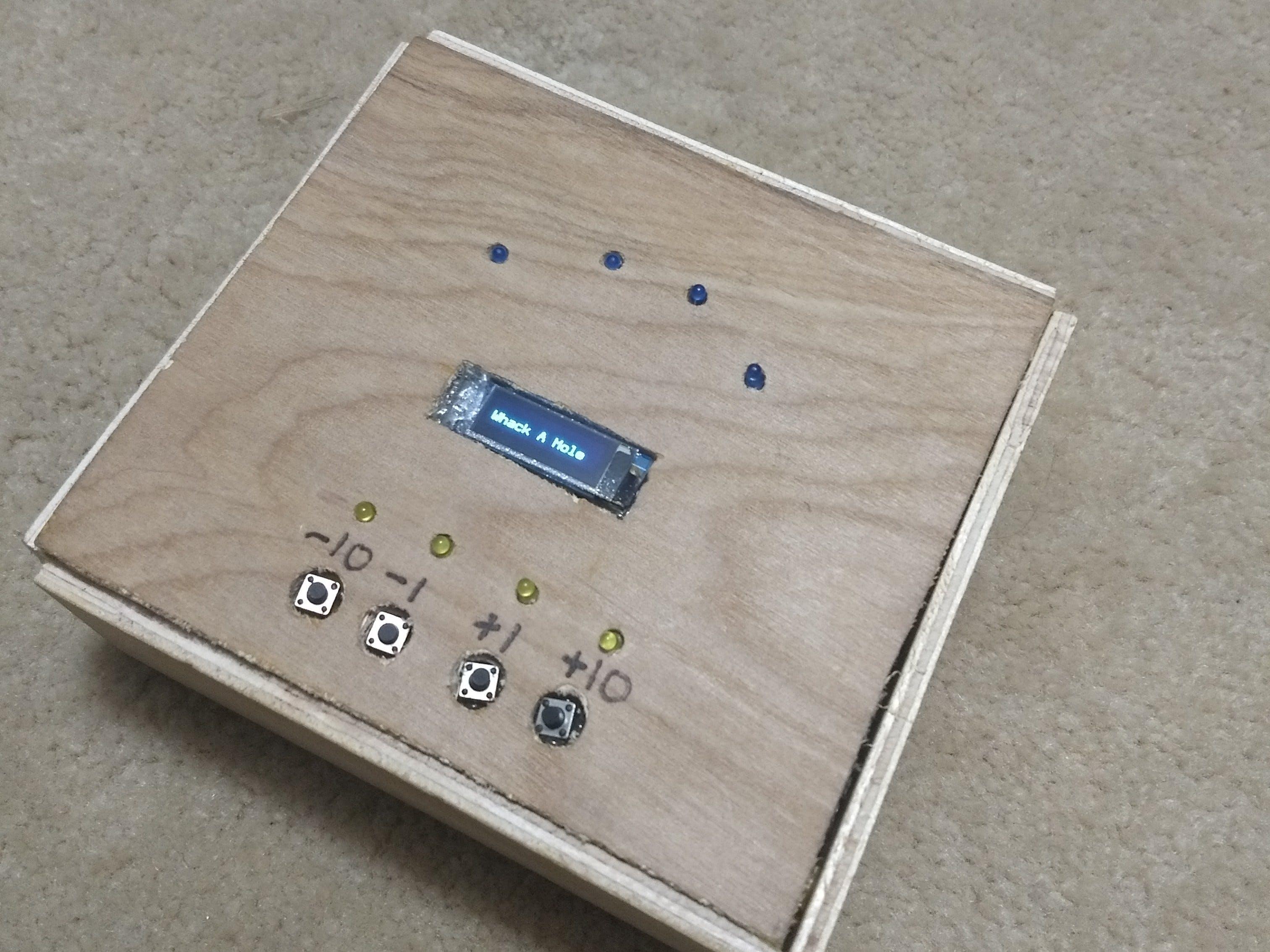 Metronome with LEDs & Tone