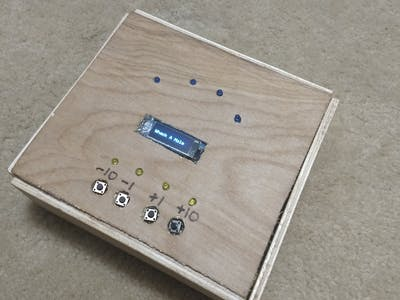 Metronome with LEDs & Tone
