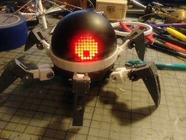 Asi (Anansi) Robot Companion