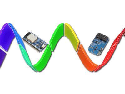 Color Luminescence Detection Using TMG39931 Interface ESP32