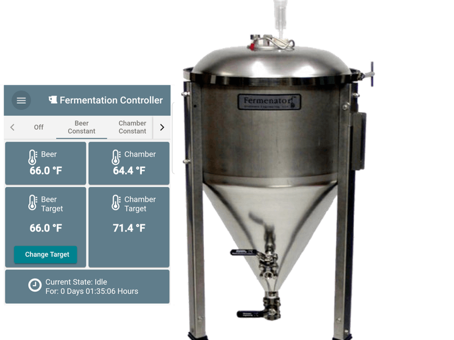 Brewing Fermentation Temperature Controller with Web App