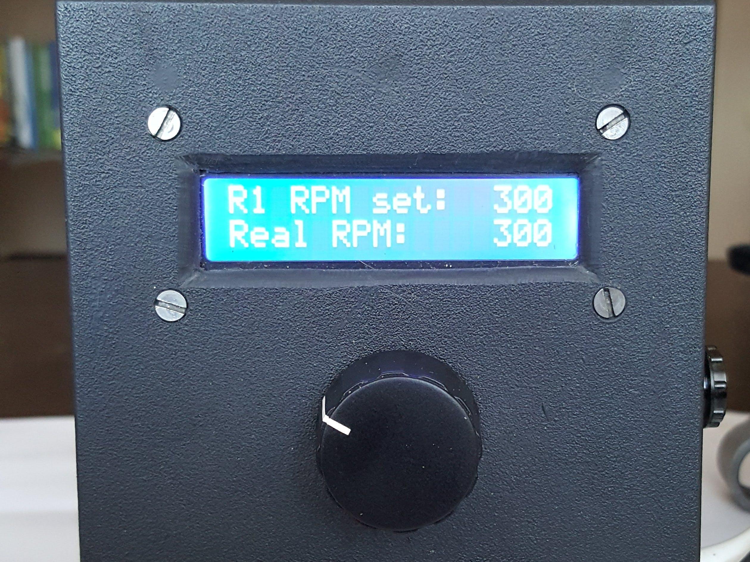Arduino-Based Universal AC Motor Speed Controller