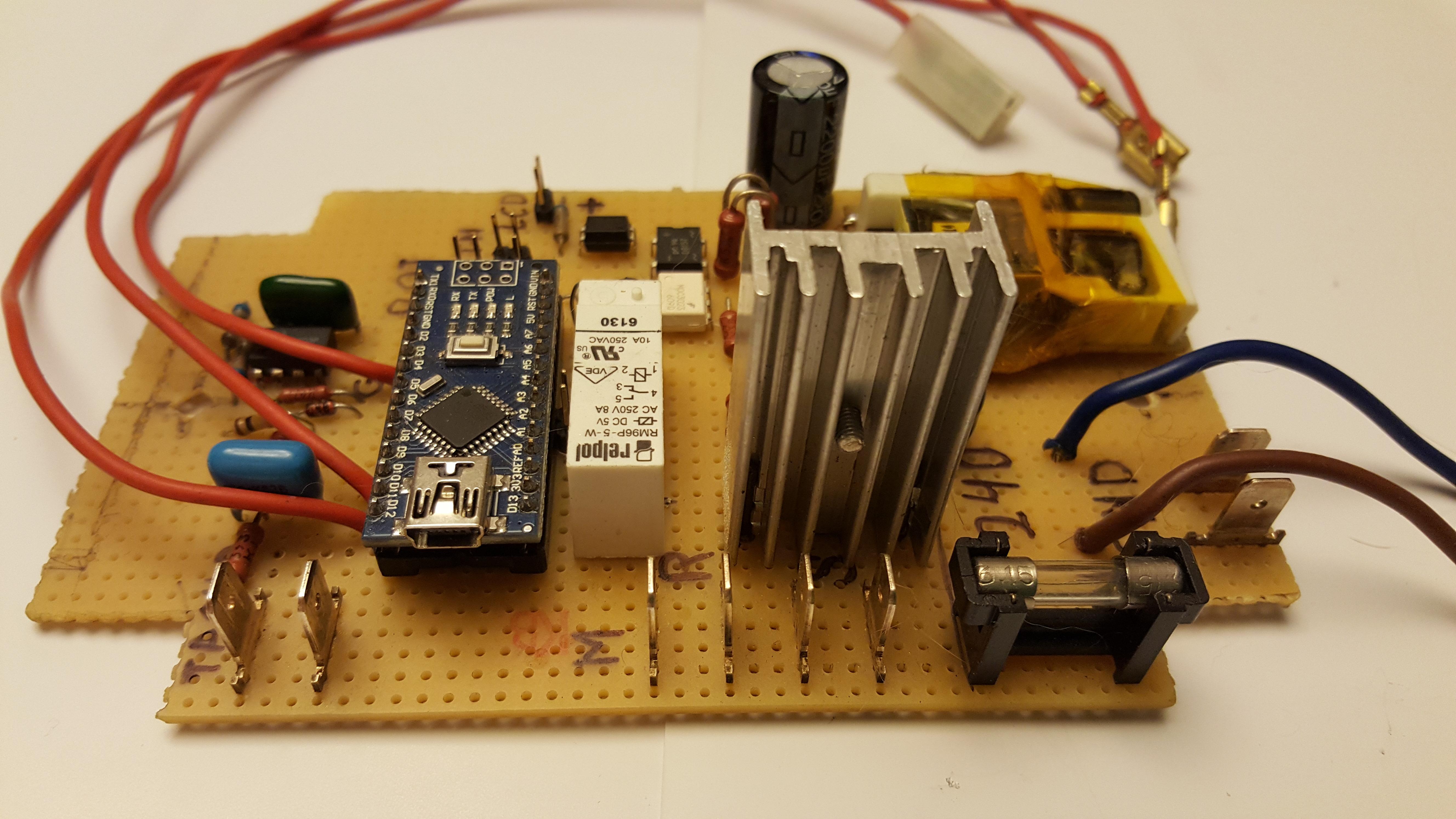 1156# 5A Range of Single-Phase AC Current Sensor Module for Arduino