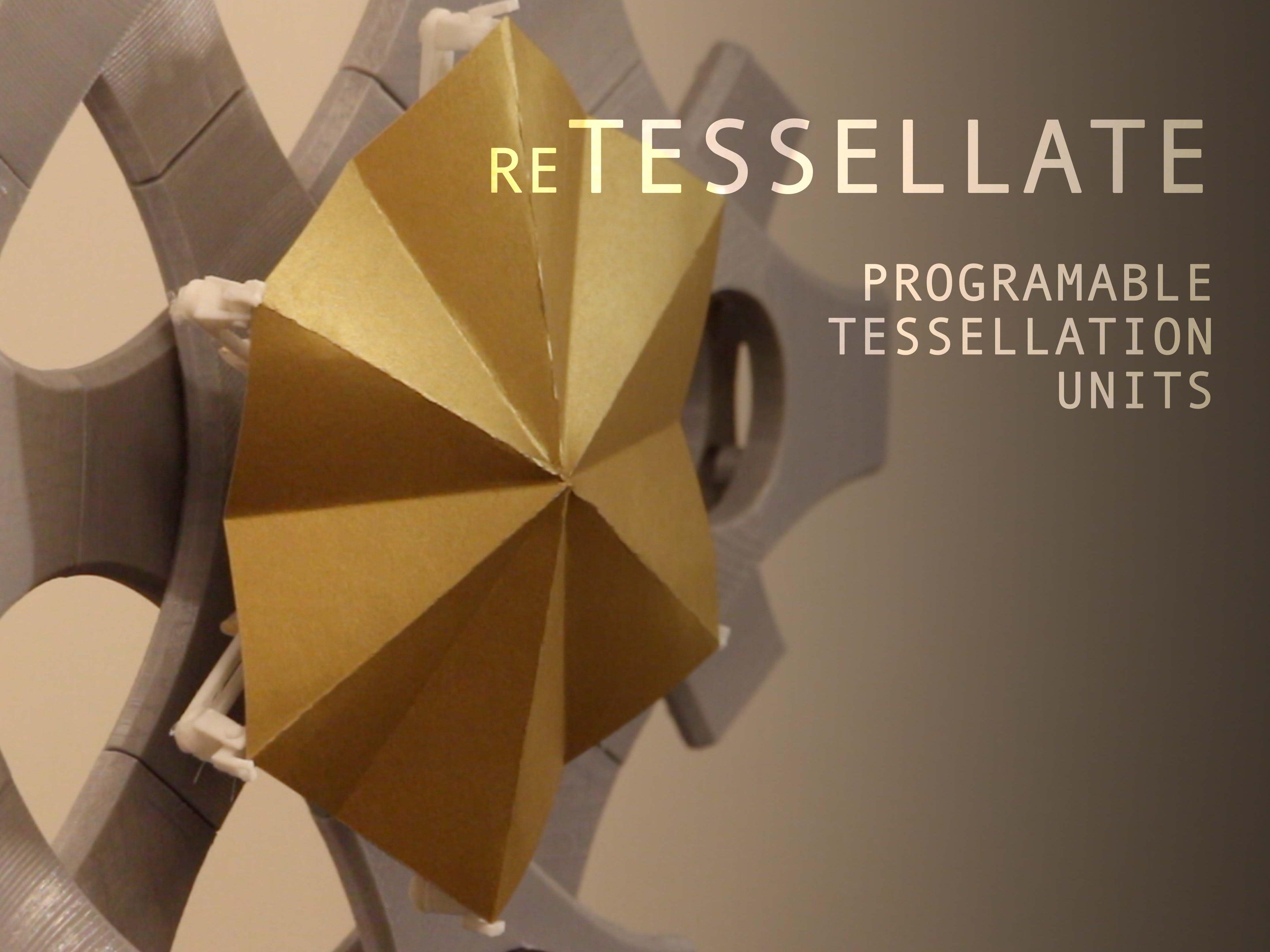 Responsive Origami | reTessellate