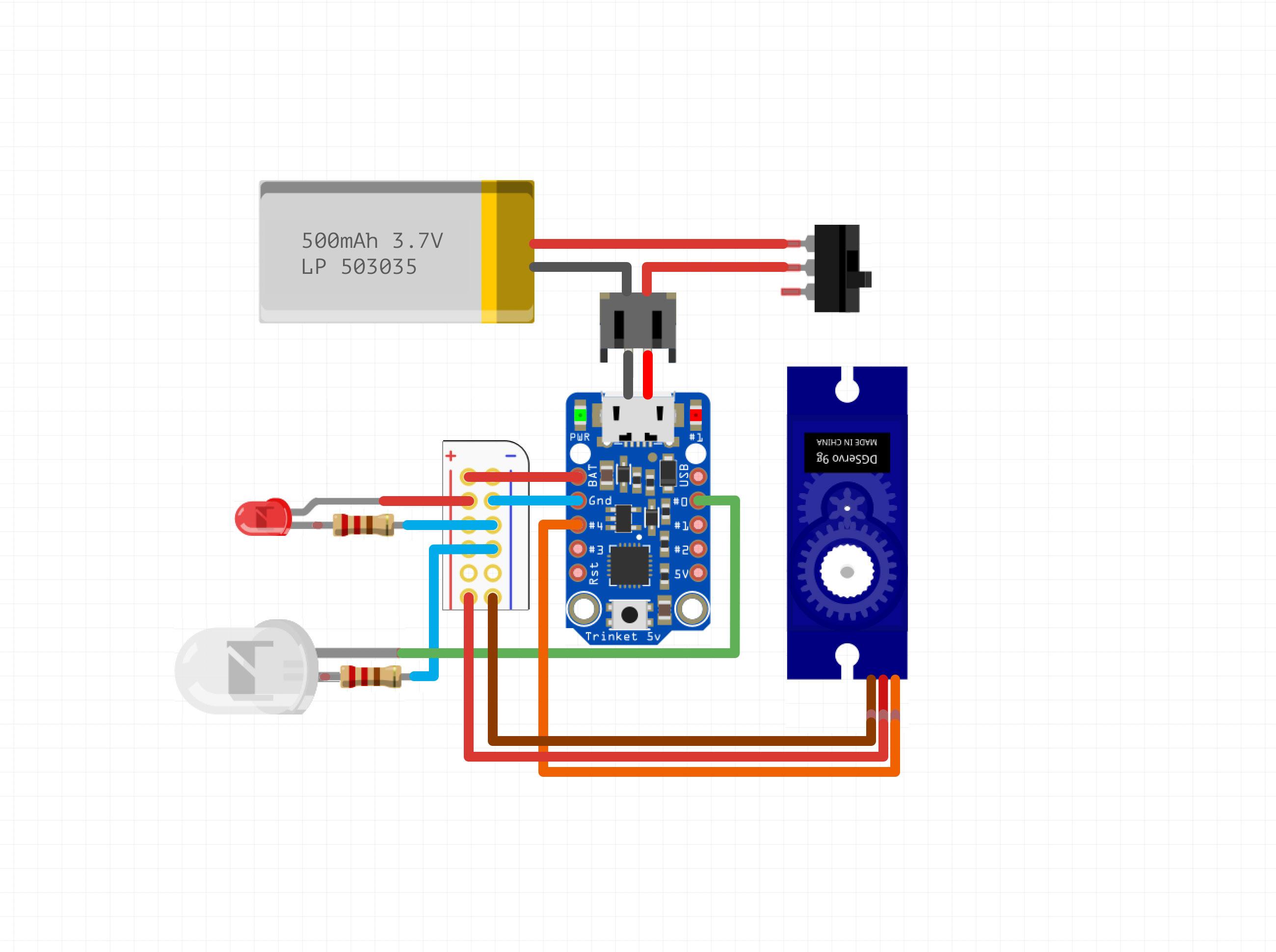 Leds circuit diagram ksptypq1xd