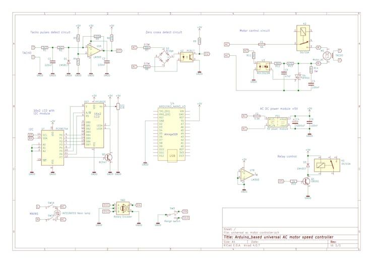 Arduino-Based Universal AC Motor Speed Controller - Hackster io