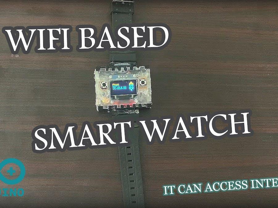 WiFi-Based Smart Watch (with Google API)