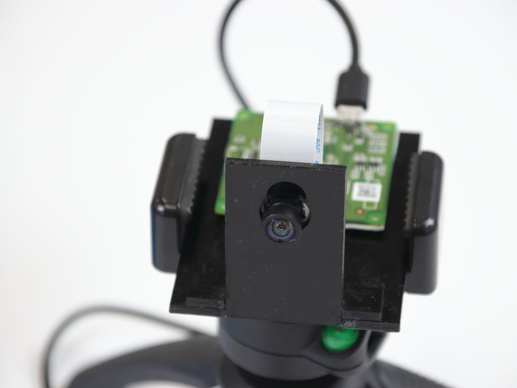 The Omron Vision component used to detect the face movements and eyesight direction