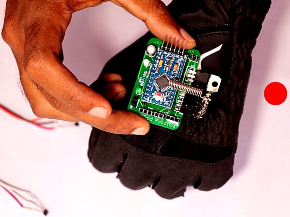 Gesture Controlled Robot Glove with Hall Effect Sensor