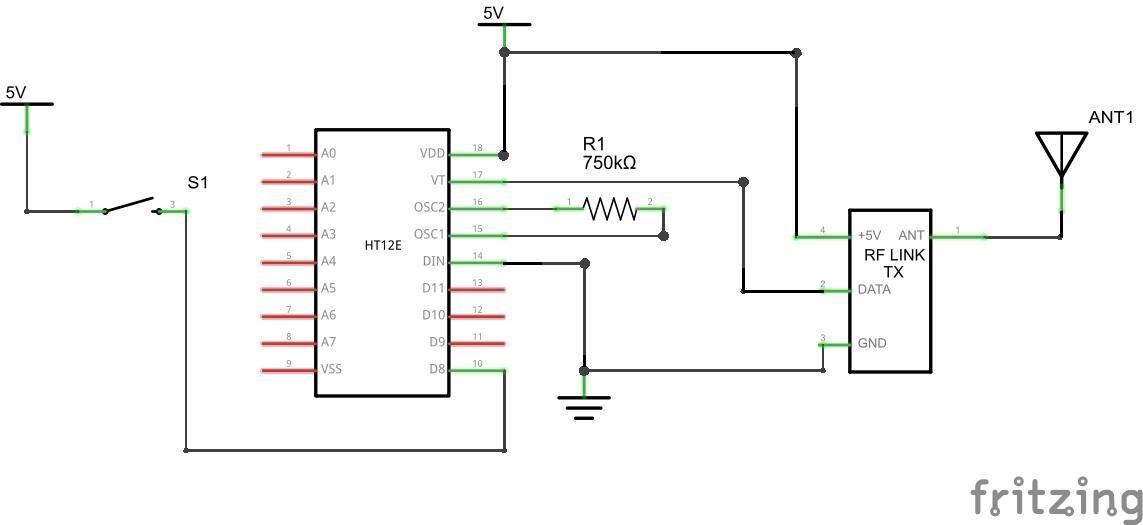 Transmitter schem 4os3kfn2dp