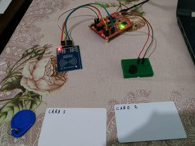 Library & Attendance Management System using RFID