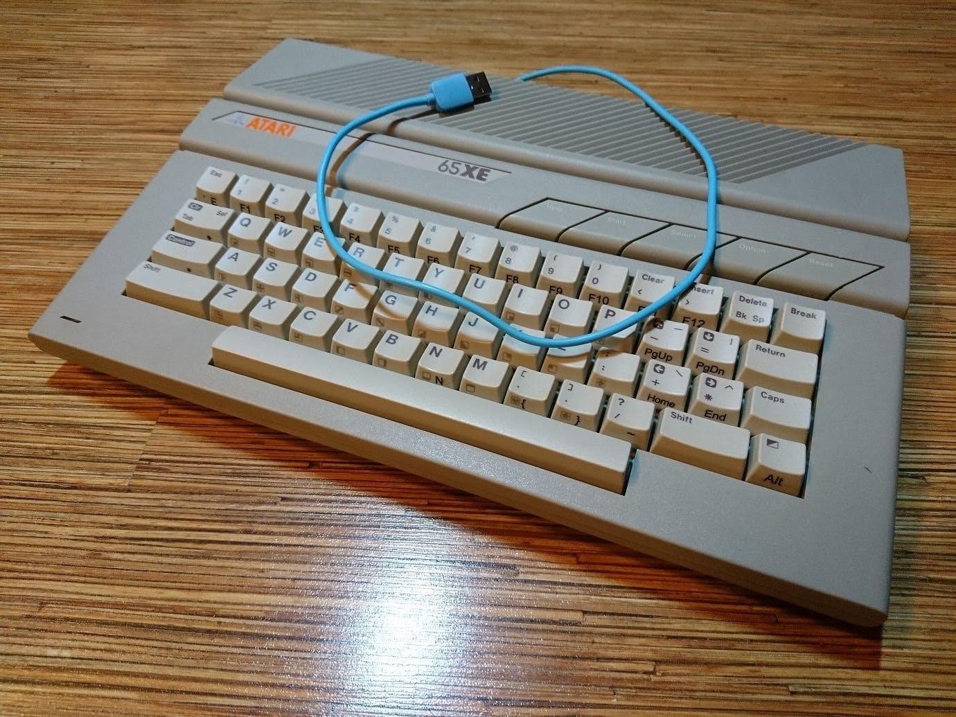 Atari 65XE as USB-Keyboard