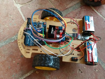 Smartphone Controlled Robotic Car