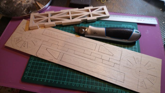 Cutting out parts of Upper Arm