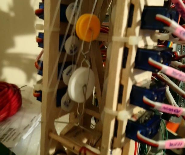 Upper Arm pulleys