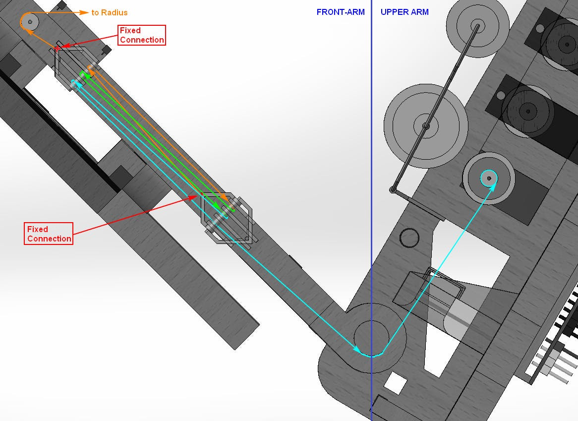 a Pulley Rope Routing Sketch