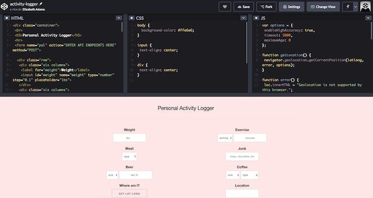Instructions | Web Form Activity Logger | Hackaday io