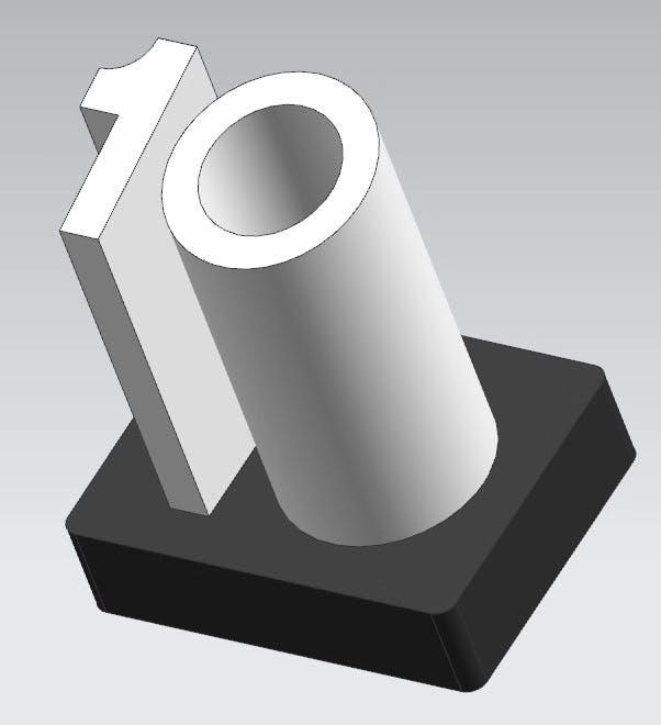 Seeed10 Trophy 3d design