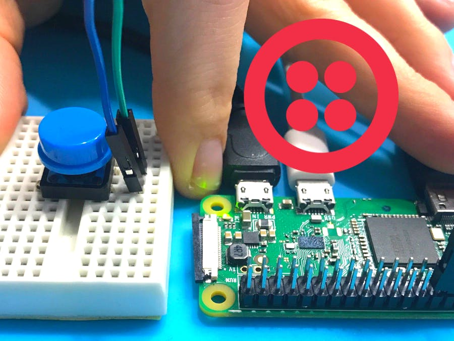 SMS Button (with Twilio) - Hackster io