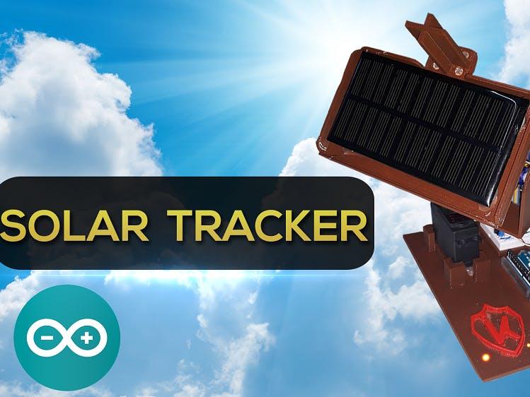 DIY Solar Tracker Arduino Project ITA