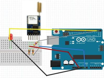 Project 015: Arduino Reyax RYLR896 LoRa Module Project