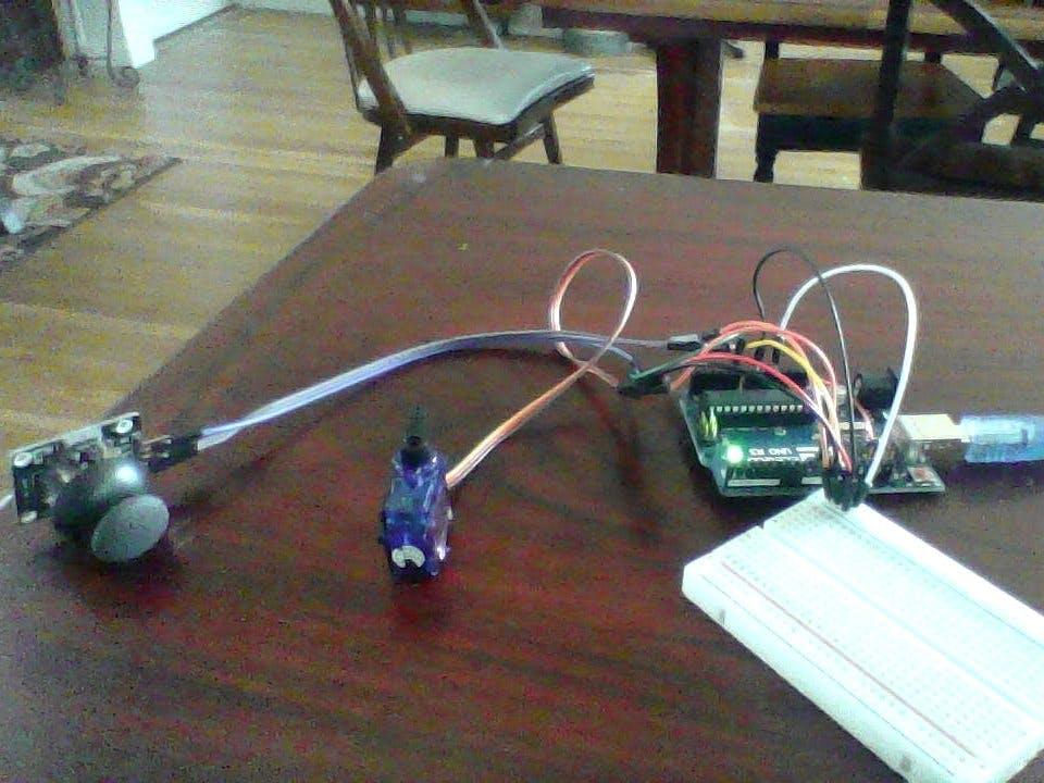 How to Control a Servo with a Joystick